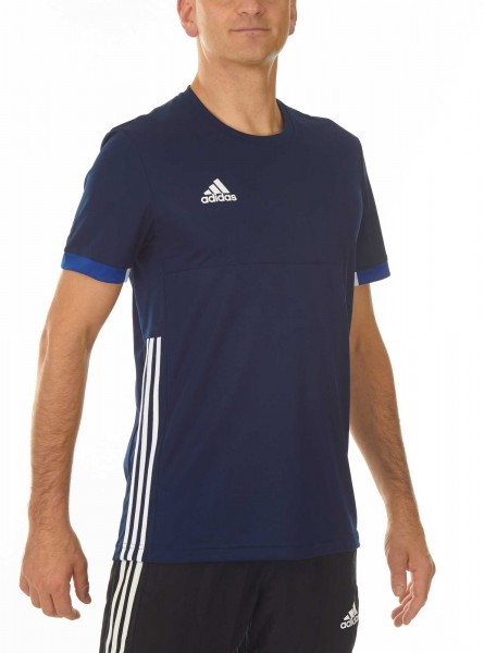 adidas T16 Team Team Tee Männer navy blau /weiß AJ5307