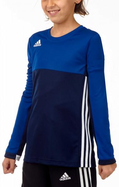 adidas T16 Clima Cool Longsleeve Mädchen navy blau/royal blau AJ5251