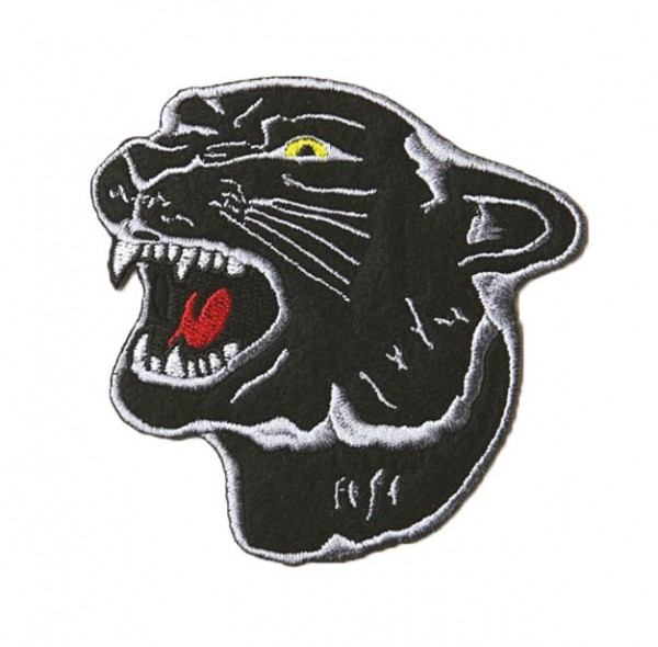Patch Panther Kopf