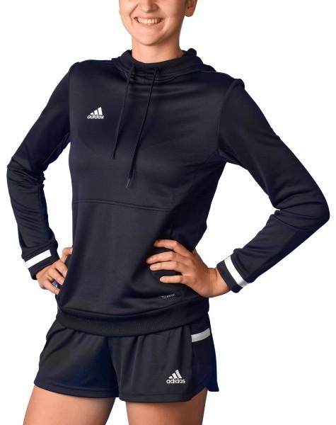 adidas T19 Hoodie Damen schwarz/weiß, DW6872
