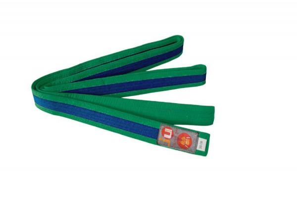 Budogürtel grün/blau/grün