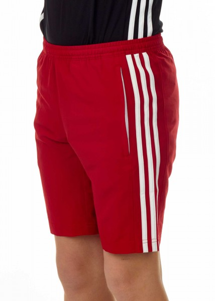adidas T16 Clima Cool Woven Short Jungen power red/weiß AJ5287