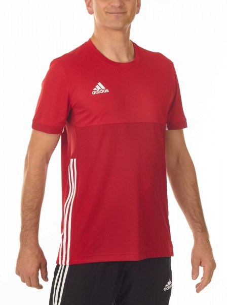 adidas T16 Clima Cool Tee Männer power rot/scarlet rot AJ5446