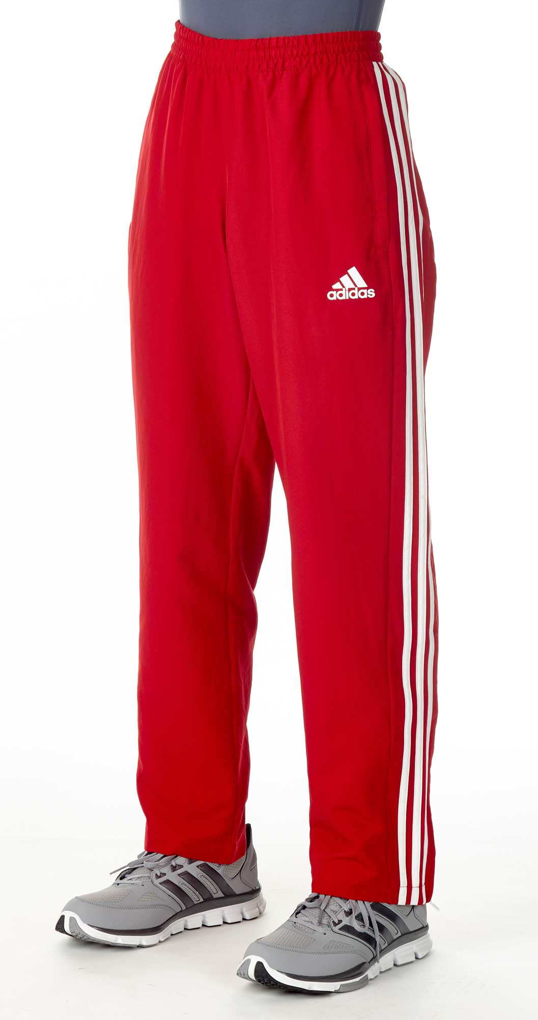 a88dd880dfd6ae Vorschau  adidas T16 Team Hose Männer power rot   weiß