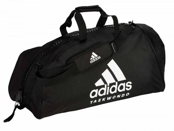 "adidas Sporttasche ""Taekwondo"" black/white Nylon, adiACC055"