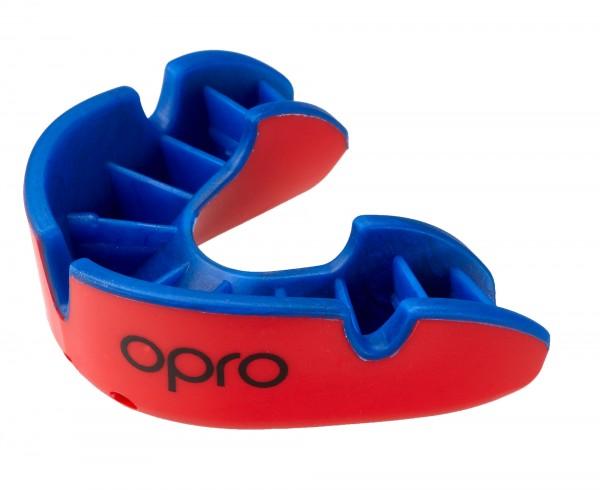 OPRO Zahnschutz Silver - Red/Blue